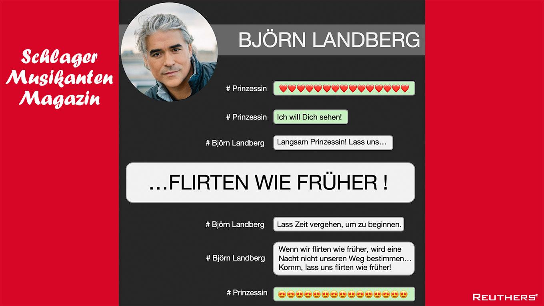 """Neue Single """"Lass uns flirten wie früher"""" von Björn Landberg"""
