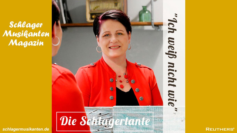 """Sandra Dietze aka Die Schlagertante veröffentlicht mit """"Ich weiss nicht wie"""" neue Popschlager-Single"""