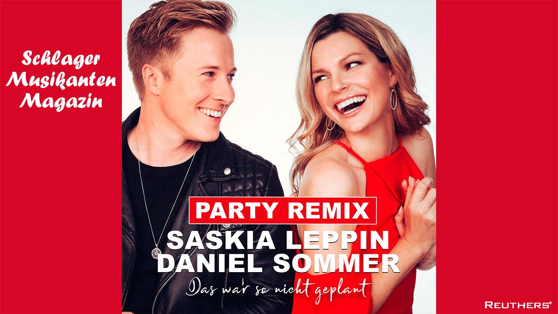 """Saskia Leppin & Daniel Sommer veröffentlichen """"Das war so nicht geplant"""" (Remix)"""