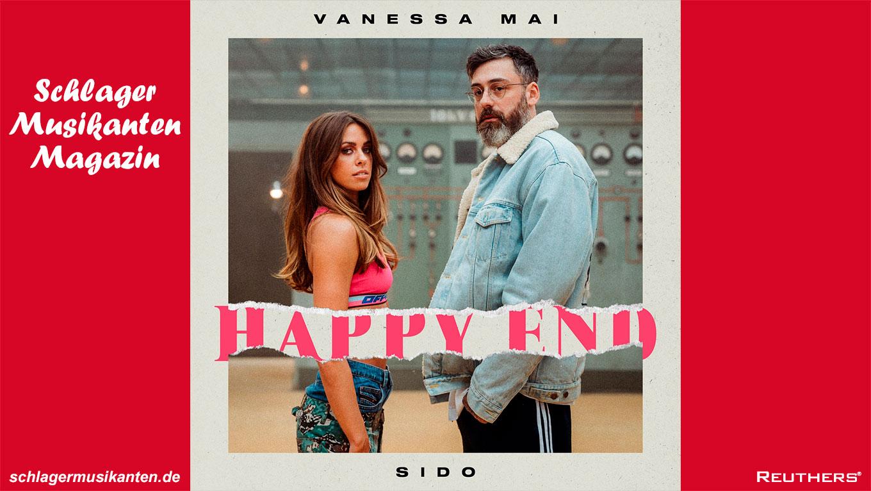 """Vanessa Mai und Sido veröffentlichen gemeinsamen Song """"Happy End"""""""